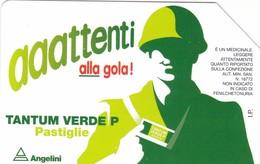 SCHEDA TELEFONICA  TANTUM VERDE  SCADENZA 31/12/1998 USATA - Italia