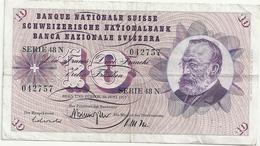 Suisse 10 Francs 1967 - Svizzera
