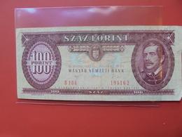 HONGRIE 100 FORINT 1992 CIRCULER - Hongrie