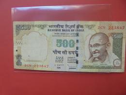 INDE 500 RUPEES 1997-2002 CIRCULER - Inde