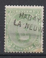 BELGIË - OBP - 1935 - Nr 137 Type I (HABAY - LA - NEUVE) - Gest/Obl/Us - Marcophilie
