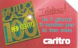 SCHEDA TELEFONICA  CARITRO  SCADENZA 31/12/1998 USATA - Italia
