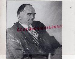 87 - LIMOGES- JEAN MEYNIER AVOCAT BATONNIER -PEINTURE MME DELOUIS-AMIE DE LA FAMILLE-RARE PHOTO ORIGINALE CLAUDE LACAN - Profesiones