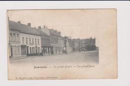 Hoboken - De  Groote Plaats Oftewel Dorpplaats Gelopen 1905 Uitg..hendrix - Antwerpen