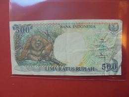 INDONESIE 500 RUPIAH 1992 CIRCULER - Indonésie