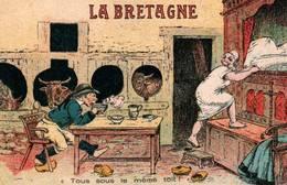 CPA - ILLUSTRATION - Thème BRETAGNE - Edition Artaud - Bretagne