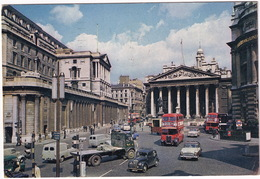 London: MORRIS EIGHT, LORRY, HUMBER HAWK II, COMMER COB, DOUBLE DECK BUSES - Bank Of England - Toerisme