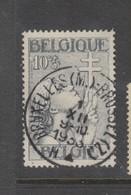 COB 377 Oblitération Centrale BRUXELLES (M.) - Belgique