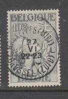 COB 377 Oblitération Centrale BRUXELLES (Midi) - Belgique