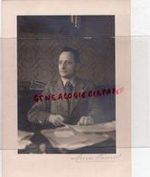 87 - LIMOGES- CHARLES ROUMAGNAC GRAND SERVITEUR DE L' ETAT-VINCENT AURIOL-RENE COTY-RARE PHOTO ORIGINALE HENRI MANUEL - Profesiones