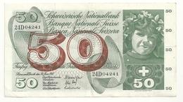 Suisse 50 Francs 1967 - Switzerland