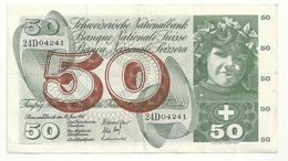 Suisse 50 Francs 1967 - Svizzera