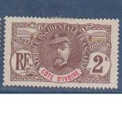 COTE D'IVOIRE                N° YVERT  :    22     NEUF SANS GOMME        ( SG     1/20  ) - Côte-d'Ivoire (1892-1944)