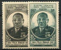 Somalie, N° 262 à N° 263** Y Et T - Côte Française Des Somalis (1894-1967)