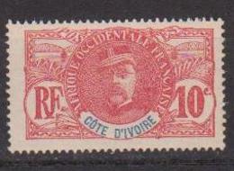 COTE D'IVOIRE                N° YVERT  :    25     NEUF SANS GOMME        ( SG     1/20  ) - Côte-d'Ivoire (1892-1944)