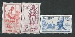 DAHOMEY N° 142/44 ** TB - Dahomey (1899-1944)