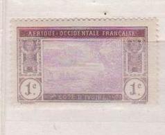 COTE D'IVOIRE                N° YVERT  :    41     NEUF SANS GOMME        ( SG     1/20  ) - Côte-d'Ivoire (1892-1944)