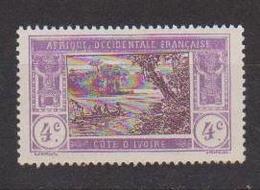 COTE D'IVOIRE                N° YVERT  :    43     NEUF SANS GOMME        ( SG     1/20  ) - Côte-d'Ivoire (1892-1944)