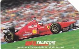 SCHEDA TELEFONICA  FERRARI  SCADENZA 31/12/1998 USATA - Italia