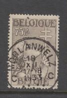COB 380 Oblitération Centrale MORLANWELZ - Belgique