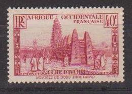 COTE D'IVOIRE                N° YVERT  :   118    NEUF SANS GOMME        ( SG     1/20  ) - Côte-d'Ivoire (1892-1944)