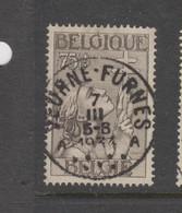 COB 380 Oblitération Centrale VEURNE - FURNES - Belgique