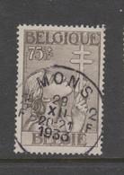COB 380 Oblitération Centrale MONS 2 - Belgique
