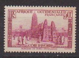 COTE D'IVOIRE                N° YVERT  :   120   NEUF SANS GOMME        ( SG     1/20  ) - Côte-d'Ivoire (1892-1944)
