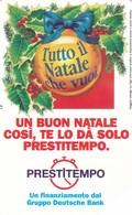 SCHEDA TELEFONICA  PRESTITEMPO  SCADENZA 31/12/1998 USATA - Italia