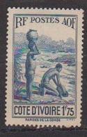 COTE D'IVOIRE                N° YVERT  :   127 A   NEUF SANS GOMME        ( SG     1/20  ) - Côte-d'Ivoire (1892-1944)