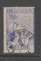 COB 382 Oblitération Centrale LA HESTRE - Belgique