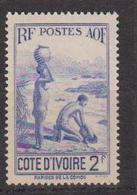 COTE D'IVOIRE                N° YVERT  :   128   NEUF SANS GOMME        ( SG     1/21  ) - Côte-d'Ivoire (1892-1944)