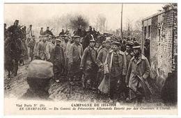 Campagne De 1914-1916 - Un Convoi De Prisonniers Allemands Escorté Par Des Chasseurs à Cheval - Ed. ND. Phot. - Guerre 1914-18