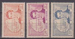 COTE D'IVOIRE                N° YVERT  :   141/43   NEUF SANS GOMME        ( SG     1/21  ) - Côte-d'Ivoire (1892-1944)