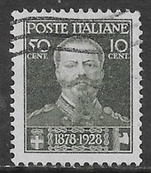 Italia Italy 1929 Regno Vittorio Emanuele II Sa N.239 US - 1900-44 Vittorio Emanuele III
