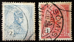 HONGRIE  King Franz Josef  .  Turul And Stephan's Crown - Hongrie