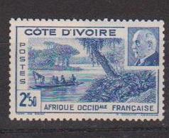 COTE D'IVOIRE                N° YVERT  :   170   NEUF SANS GOMME        ( SG     1/21  ) - Côte-d'Ivoire (1892-1944)