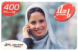 Syria Phonecards Used 800 Units - Syria