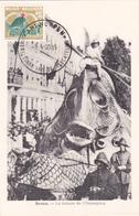 CM - Anvers - La Baleine De L'Ommegang - Timbre N° 1114 - 1960 - Cartes-maximum (CM)