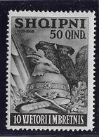 Albanie N°255 - Oiseaux - Neuf * Avec Charnière - TB - Albania