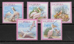 Albanie N°962/966 - Oiseaux - Neuf ** Sans Charnière - TB - Albania