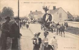78-HOUDAN- CAVALCADE DU 28 MAI 1905, CHAR DE BACCHUS - Houdan