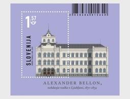 Slovenië / Slovenia - Postfris/MNH - Sheet Architectuur 2019 - Slovenië