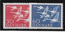 Danemark N°372/373 - Oiseaux - Neuf * Avec Charnière - TB - Neufs