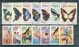 GUINEE-BISSAU ; 1984 ; Y&T N° Entre 314 Et 327 ; Lot : 10 ; Oblitéré - Guinée-Bissau