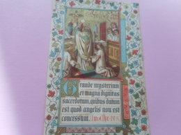 DEVOTIE .-HEILIGE MISSE VAN EERE Door EDMOND BUYCK OPGEDRAGE IN DE KERKE VAN THIELT 28-9- IN 'tJAAR O.H.J.C.1881 - Religion & Esotérisme