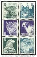 ZWEDEN 1973 Dieren Gewoon Papier Serie PF-MNH - Nuovi