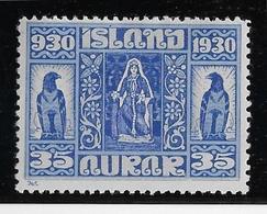 Islande N°131 - Oiseaux - Neuf * Avec Charnière - TB - Nuovi