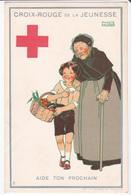 CPA Croix-Rouge De La Jeunesse - Aide Ton Prochain  - Illustration Signée De Maggie Salzedo - Croix-Rouge