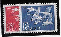 Islande N°270/271 - Oiseaux - Neuf * Avec Charnière - TB - Nuevos
